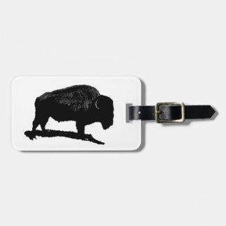 Het Label van de Bagage van buffels Kofferlabel