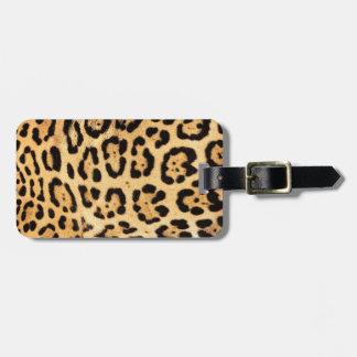 Het Label van de Bagage van de Druk van Jaguar Bagagelabel
