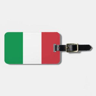 Het Label van de Bagage van de Vlag van Italië Kofferlabel
