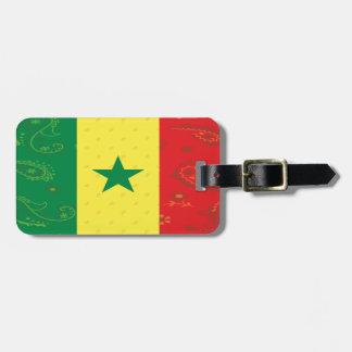 Het Label van de Bagage van de Vlag van Senegal Kofferlabels