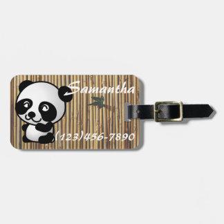 Het Label van de Bagage van het Bamboe van de Kofferlabel