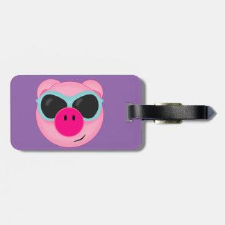 Het Label van de Bagage van het varken Bagagelabel