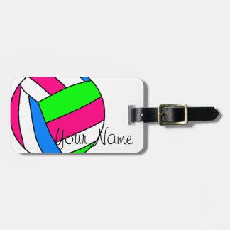 Het Label van de Bagage van het Volleyball van de Kofferlabel