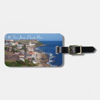 Het Label van de Bagage van Puerto Rico Bagagelabel
