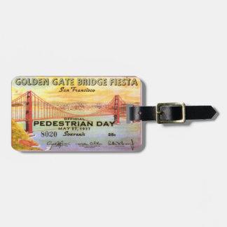 Het Label van de Bagage van San Francisco Golden g Bagagelabel