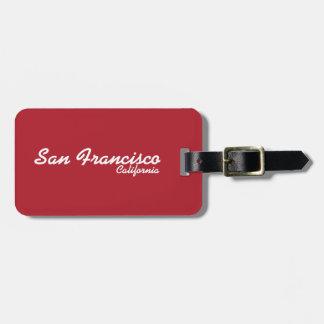 Het Label van de Bagage van San Francisco, Kofferlabel