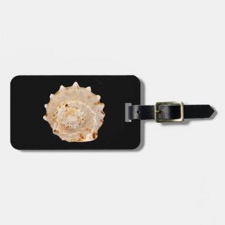Het Label van de Bagage van Shell van de kroonslak Kofferlabels