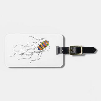 Het label van de de microbebagage van het kofferlabels