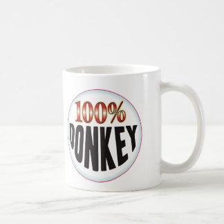 Het Label van de ezel Koffiemok