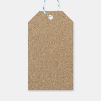Het Label van de Gift van kraftpapier Cadeaulabel