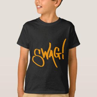 Het Label van Swag - Sinaasappel T Shirt