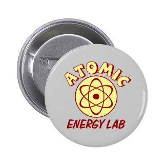 Het Laboratorium van de kernenergie Ronde Button 5,7 Cm