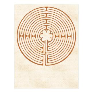 Het Labyrint van Chartres Briefkaart
