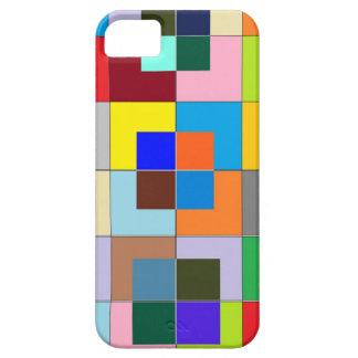 Het Labyrint van de KLEUR: Gelukkige Grafiek Barely There iPhone 5 Hoesje