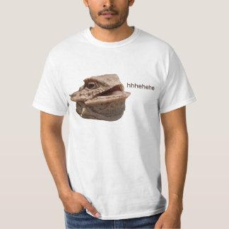 Het lachen de Hagedis van HeHe van de Leguaan T Shirt