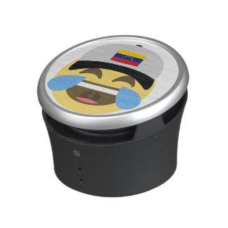 Het Lachen Emoji van het Pet van Venezuela Bluetooth Speaker