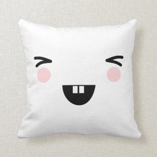 Het lachen het Japanse hoofdkussen van het Sierkussen