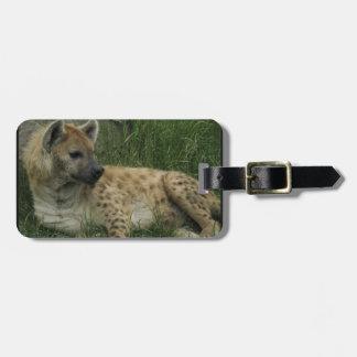 Het lachen het Label van de Bagage van Hyena's Kofferlabel