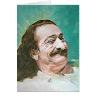 Het lachen van de Baba van Meher Briefkaarten 0