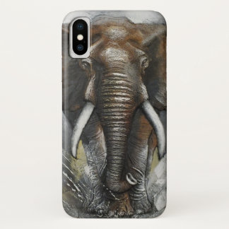 Het Laden van de olifant iPhone X Hoesje