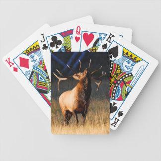 Het Laden van elanden Bicycle Speelkaarten