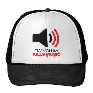Het lage Volume doodt Muziek Mesh Petten