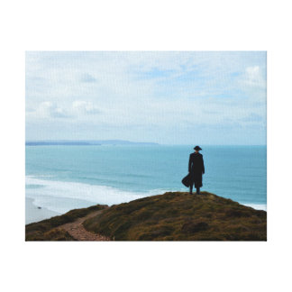 Het Land Cornwall Engeland van Poldark Canvas Afdruk