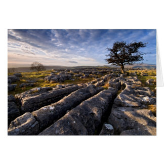Het Land van het kalksteen Kaart