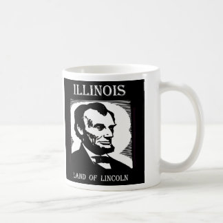 Het Land van Illinois van Lincoln Koffiemok