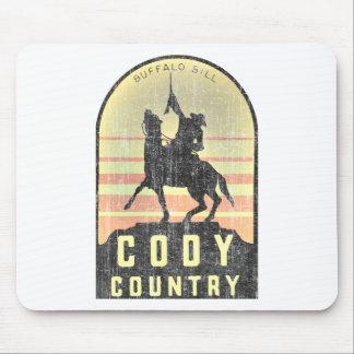 Het Land Wyoming van Cody Muismat