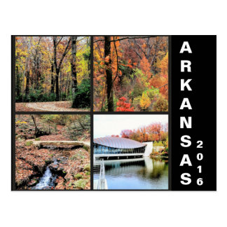 Het Landschap van de herfst in het Briefkaart van