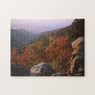 Het Landschap van de herfst, Nationaal Park Puzzel