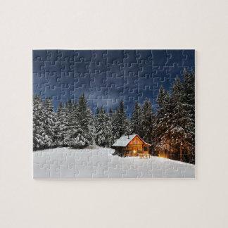 Het Landschap van de winter Puzzel