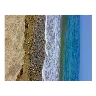 Het landschap van het zee briefkaart