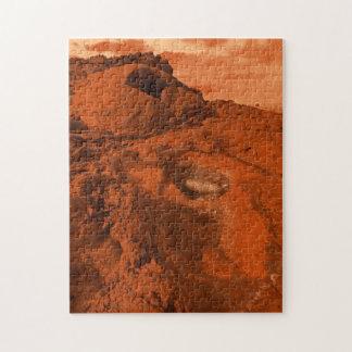 Het landschap van Mars Puzzel