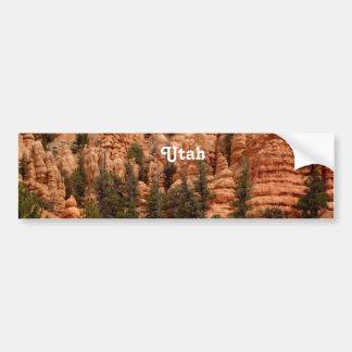 Het Landschap van Utah Bumpersticker