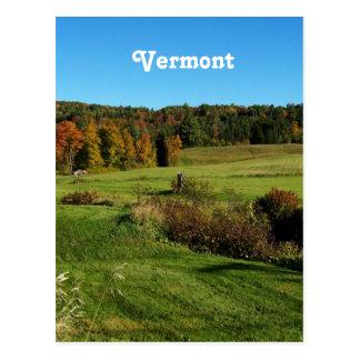 Het Landschap van Vermont Briefkaart
