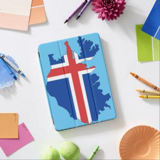 Het landvlag van IJsland iPad Air Cover