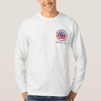 Het lang-Sleeved Overhemd van de Coalitie van de T Shirt