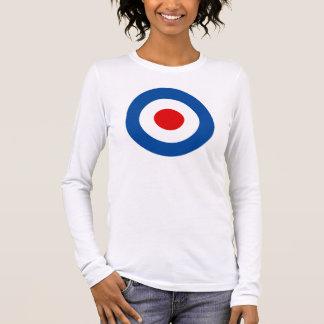 Het lang-Sleeved T-shirt van Mod. Roundel van