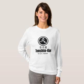 Het lang-sleeveT-shirt van de Karate tenshin-Kai T Shirt