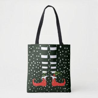 Het lange Canvas tas van Kerstmis van het Elf