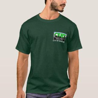 Het Lange (groene) Sleeve van Houston CERT T Shirt