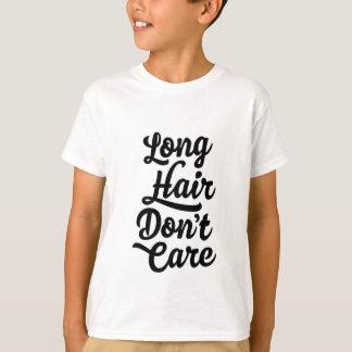 Het lange Haar geeft niet Kinder T-shirt