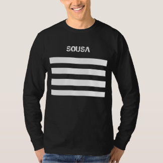 Het lange Overhemd SOUSA van het Sleeve T Shirt