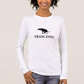 Het Lange Sleeve van de Vrouwen van de Hond van T Shirts