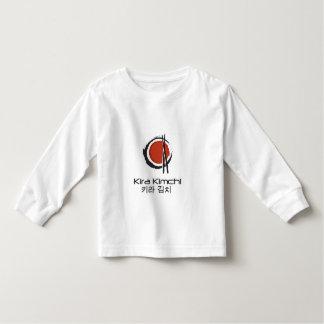 Het lange Sleeved Overhemd van de Peuter van Kira Kinder Shirts