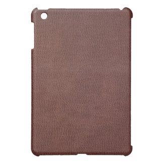 Het Leer van het Zadel van de cowboy iPad Mini Hoesjes