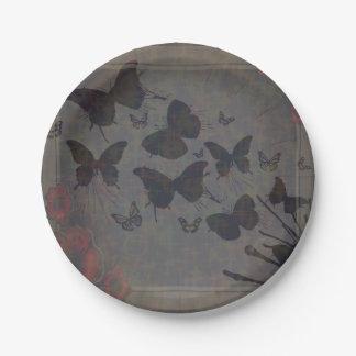 Het lege Bord van het Document van de Vlinder