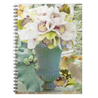 Het Lege Notitieboekje van orchideeën Ringband Notitieboek